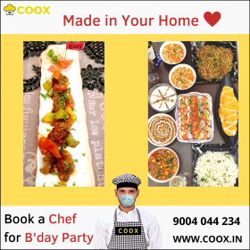 BOOK A COOK, CHEF NEAR YOU !!!!