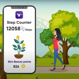 Step Counter - Skin Beauty Pal