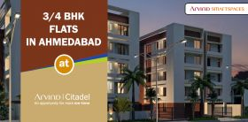 Buy 3 and 4 BHK Residential Flats in Ahmedabad