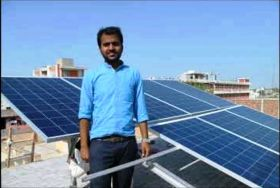 Off-Grid rooftop solar plants installation