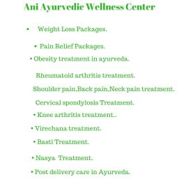 Ani Ayurvedic Wellness Center