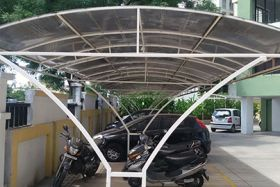 car parking tensile structure in pune
