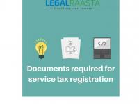 Apply Service Tax Registration Online LegalRaasta