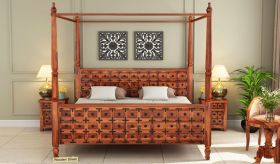 Wooden Bed Online in India