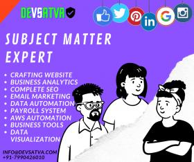 Subject Matter Expert !!