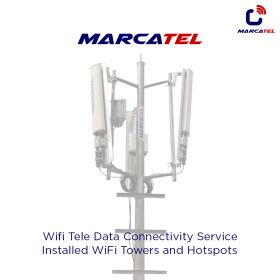 Installs Wi-Fi Tower