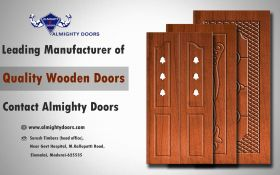 Leading manufacturer of Wooden Main Doors