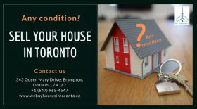 Sell your house in any condition in Toronto