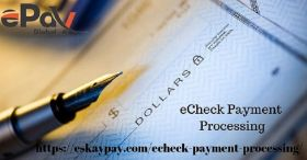 eCheck Processing | Accept eCheck payment Online