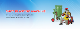 Shot blasting machine manufacturers in india
