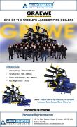 Graewe Coilers for profile extrusion