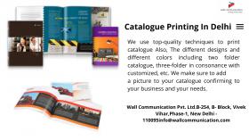 Catalogue and Brochure designing in Delhi