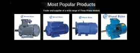 Bharat Bijlee Industrial Three Phase Motors,