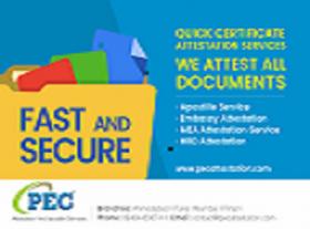PEC Attestation And Apostille Services Ind Pvt Ltd
