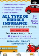 Car Insurance, Commercial and Private Insurance