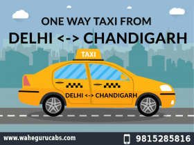 Chandigarh to Delhi Cab