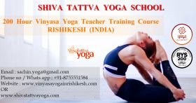 200 Hours Vinyasa Yoga TTC in Rishikesh, India