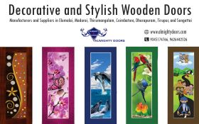Decorative/Designer Wooden Doors Manufacturers in