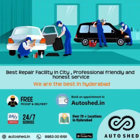 Cars service center hyderabad