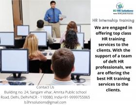 HR Internship Training