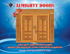 Wooden Membrane Doors and PVC Wooden Doors Sellers