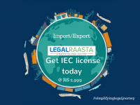 Register Import Export Code | Legalraasta