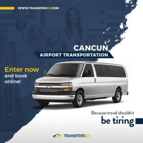 Cancun Airport Transportation by Transfers DV