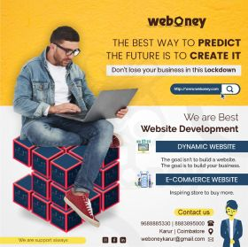 Ecommerce website Design Company in Karur