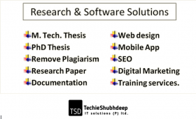 Research and Development services in Gwalior