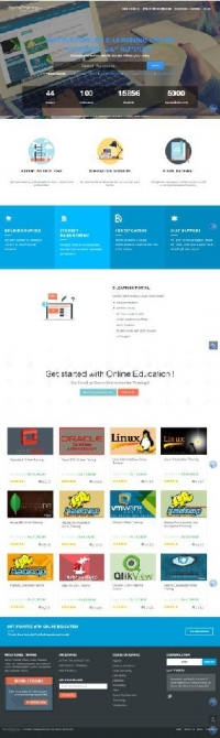E-learning portal with instructor led | Online tra