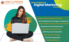 Digital Marketing Institute in Delhi- King Classes