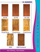 Teak Wood Doors and Windows Manufacturers