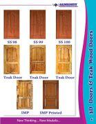 Teak Wood Doors and Windows Manufacturers