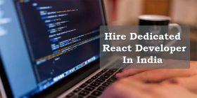 Hire Dedicated React Developer India