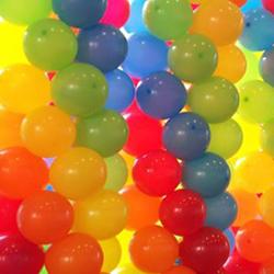 Balloon Pillars / Balloon Columns