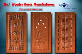 Solid Wooden Doors Manufacturers and Exporters