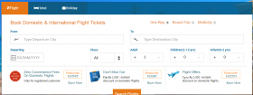 Book Domestic & International Flight Tickets
