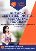 Advance Certified Digital Marketing Program