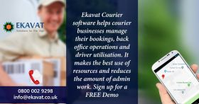 courier dispatch software|courier software|EKAVAT