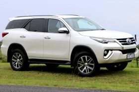 Toyota Fortuner Car Hire Jaipur