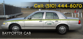 Cab in Oakland