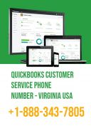 QuickBooks Support Phone Number - Virginia USA