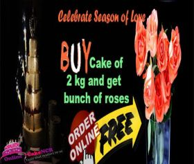 Free Cake Delivery in Noida