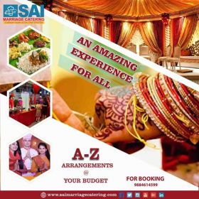 Catering Services in Chennai - Sai Marriage