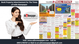 Property Advertisement in Newspaper Book Ad Online