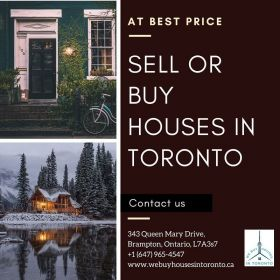 Sell or buy houses in Toronto at the best price.