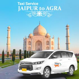 Taxi Service Jaipur To Agra