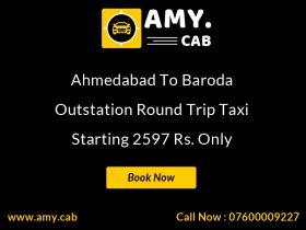 Ahmedabad To Baroda Taxi