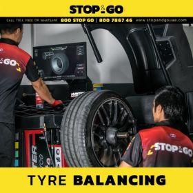 Car Tyre Balancing Service Dubai