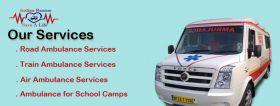 Road Ambulance Services in Delhi